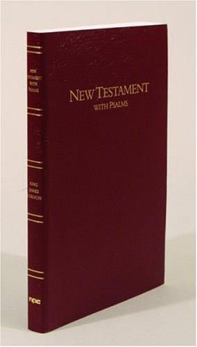 9780834003422: KJV New Testament and Psalms