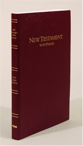 9780834003422: Large Print New Testament with Psalms: King James Version