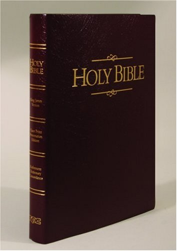 9780834003606: Holy Bible: King James Version, Giant Print, Burgundy, Imitation Leather, Presentation Edition