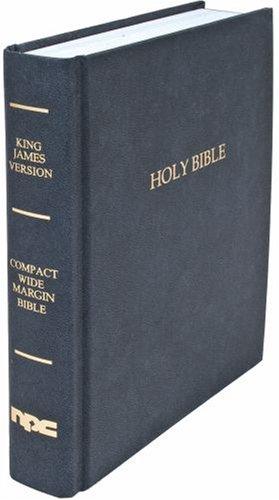 9780834004191: Black Compact Wide Margin Bible King James Version