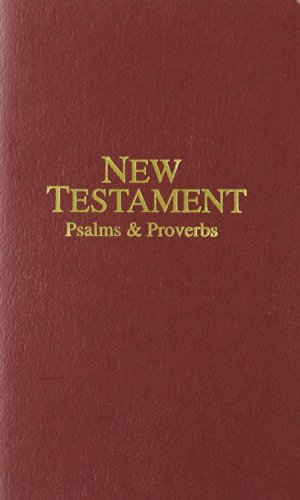9780834004528: Economy Pocket New Testament with Psalms and Proverbs: King James Version