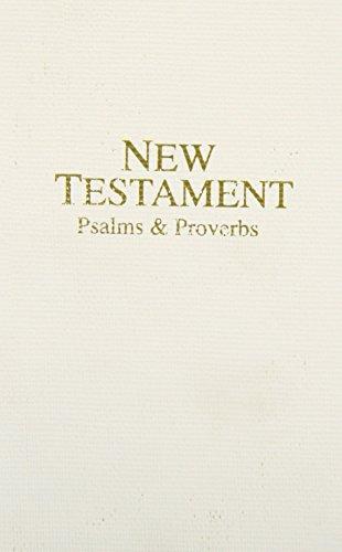 9780834004535: KJV New Testament Psalms & Proverbs: Imitation Leather, White