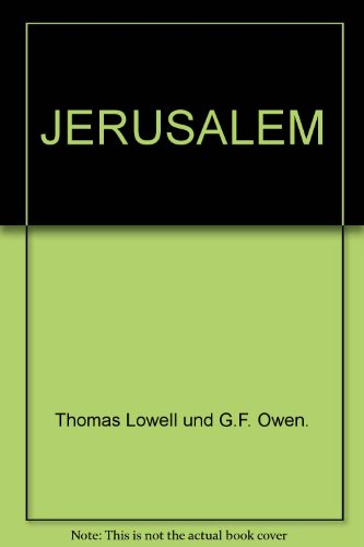 9780834102156: Jerusalem