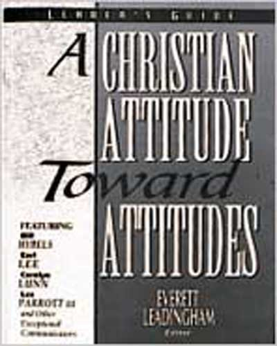 9780834115279: Christian Attitude Toward Attitudes (The Dialog Series)