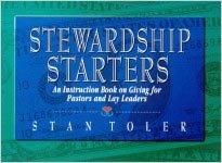 Stewardship Starters (0834116553) by Stan Toler