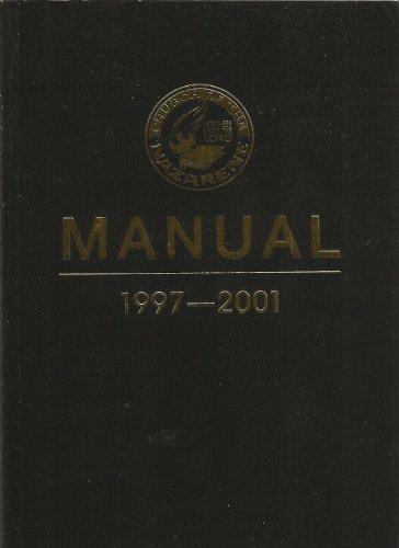 Church of the Nazarene Manual 1997-2001 [Paperback]: Nazarene Publishimg House;