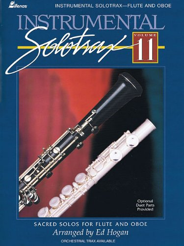 9780834172302: Instrumental Solotrax - Volume 11: Sacred Solos for Flute and Oboe