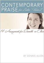 9780834175891: Contemporary Praise for Ladies' Voices 2: 14 Arrangements for Ensemble or Choir