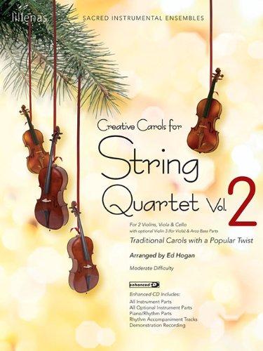 9780834178168: Creative Carols for String Quartet - Volume 2: Traditional Carols with a Popular Twist