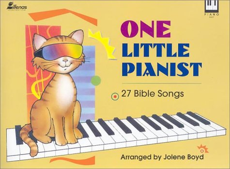 9780834190382: One Little pianist (27 Bible Songs)