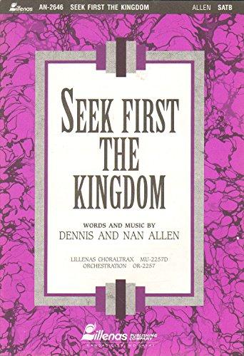 9780834192300: Seek First the Kingdom