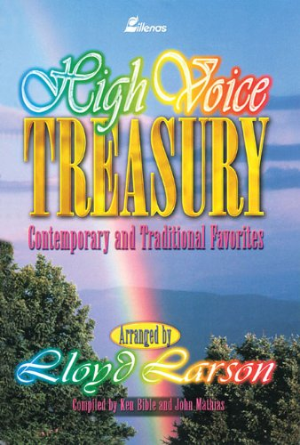 9780834195820: High Voice Treasury: Contemporary and Traditional Favorites