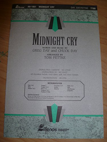 Midnight Cry, TTBB (0834198789) by Tom Fettke
