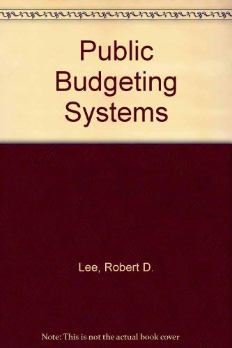 9780834200708: Public Budgeting Systems