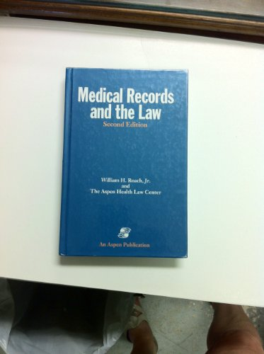 9780834203174: Medical Records and the Law