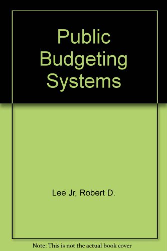 9780834206014: Public Budgeting Systems