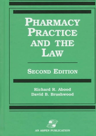 9780834209152: Pharmacy Practice and the Law