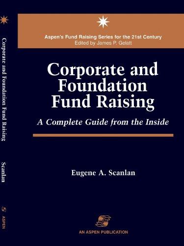 9780834209367: Corporate & Foundation Fund Raising (Aspen's Fund Raising Series for the 21st Century)