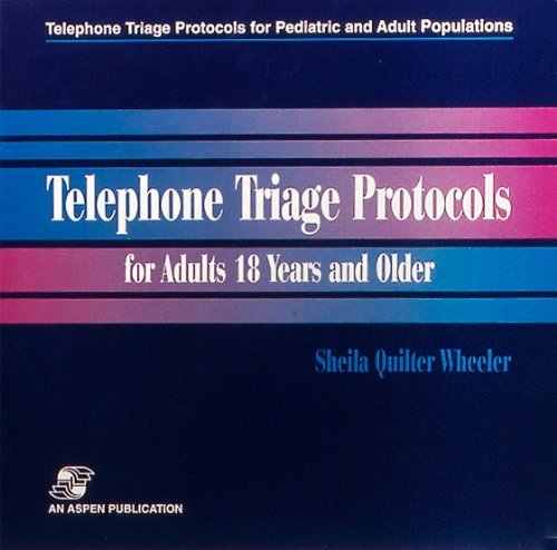 9780834209800: Telephone Triage Protocols for Adults 18 Years and Older (Telephone Triage Protocols for Pediatric and Adult Populations) (Vol 3)