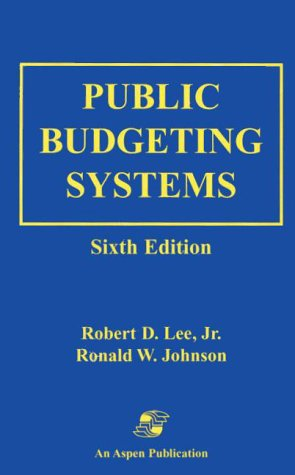 9780834210448: Public Budgeting Systems
