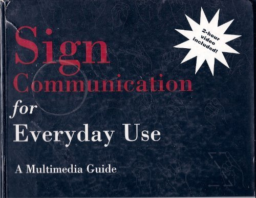 9780834210950: Sign Communication for Everyday Use: A Multimedia Guide