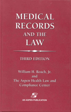 9780834211049: Medical Records and the Law