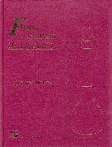 9780834212039: Food Analysis (Food Science Texts Series)