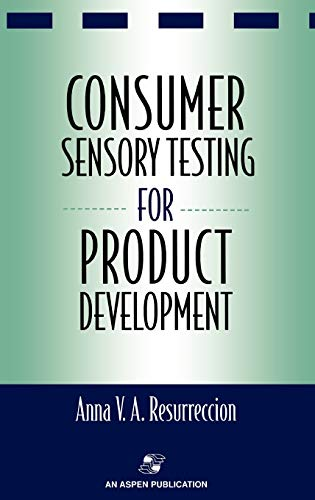 9780834212091: Consumer Sensory Testing For Product Development (Chapman & Hall Food Science Book)