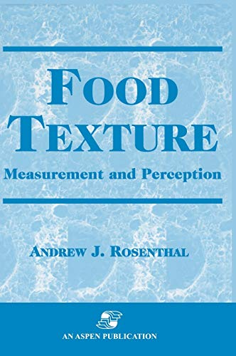 9780834212381: Food Texture: Measurement and Perception (Chapman and Hall Food Science Book)