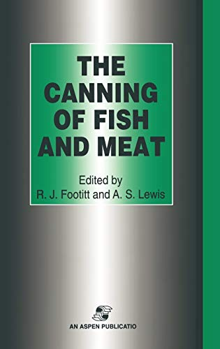 9780834212916: The Canning of Fish and Meat