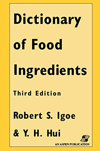9780834212954: Dictionary of Food and Ingredients, Third Edition