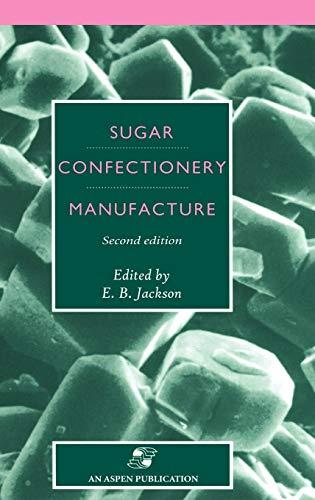 9780834212978: Sugar Confectionery Manufacture