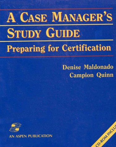 9780834213685: A Case Manager's Study Guide: Preparing for Certification (With CD-ROM)