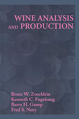 9780834217010: Wine Analysis & Production