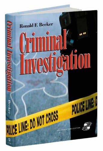 9780834217119: Criminal Investigation