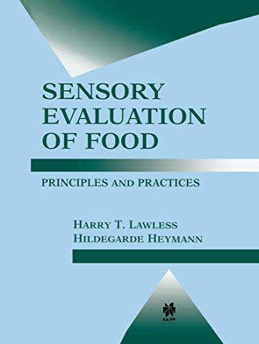 9780834217522: Sensory Evaluation of Food: Principles and Practices (Food Science Text Series)