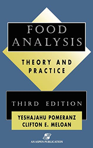 9780834218260: Food Analysis: Theory and Practice