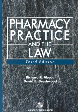 9780834218802: Pharmacy Practice and the Law