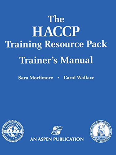 9780834220799: The HACCP Training Resource Pack Trainer's Manual