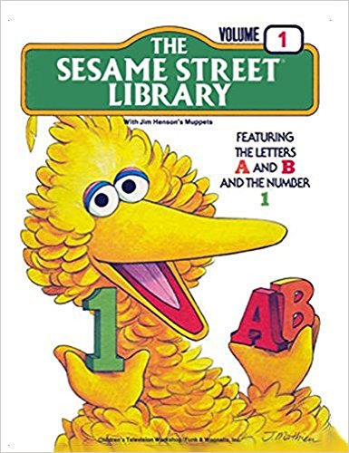The Sesame Street Library with Jim Henson's Muppets Volume 1 Featuring The Letters A and B and...