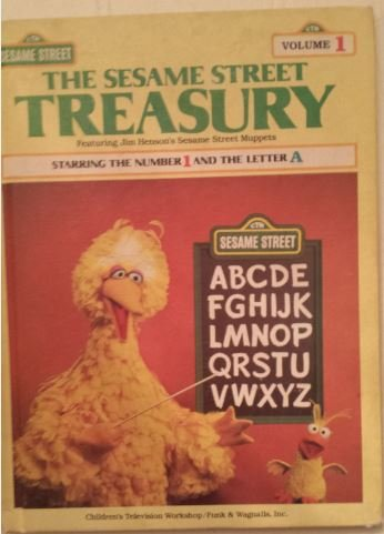 9780834300538: The Sesame Street Treasury, Vol. 1: Starring the Number 1 and the Letter A