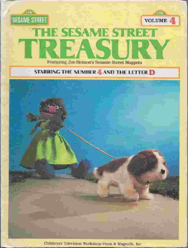 9780834300569: The Sesame Street Treasury, Vol. 4: Starring the Number 4 and the Letter D