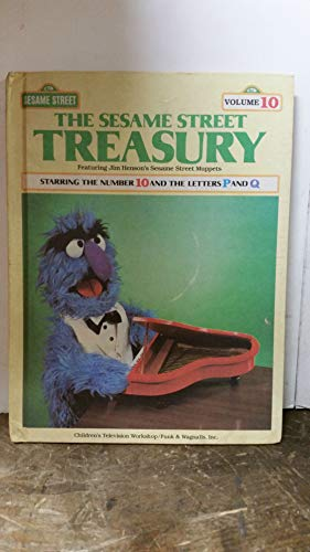 9780834300620: The Sesame Street Treasury, Vol. 10: Starring the Number 10 and the Letters P and Q