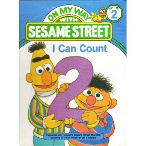 On My Way with Sesame Street, Complete 15-volume set: Hayward, Linda, et al.; Children's Television...