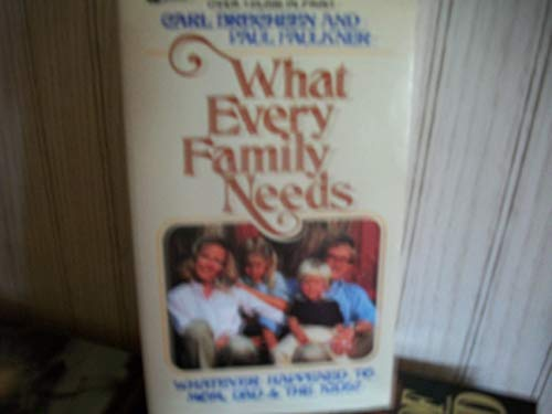9780834401044 What Every Family Needs Journey Books Abebooks