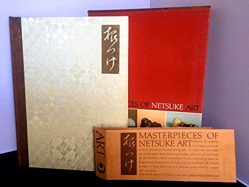 9780834800854: Masterpieces of Netsuke Art: One Thousand Favorites of Leading Collectors