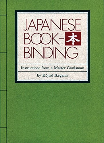 9780834801967: Japanese Bookbinding: Instructions From A Master Craftsman