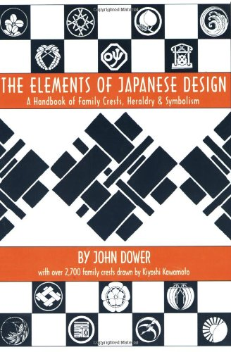 9780834802292: Elements of Japanese Design: Handbook of Family Crests, Heraldry and Symbolism