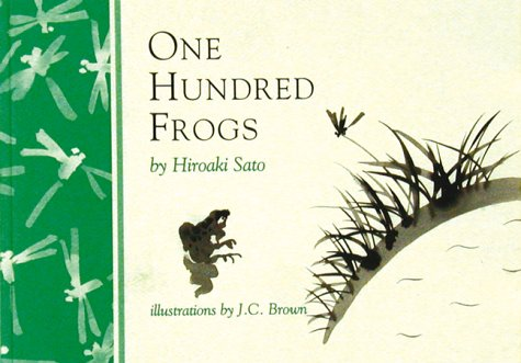 9780834803350: One Hundred Frogs: From Matsuo Basho to Allen Ginsberg (Inklings)