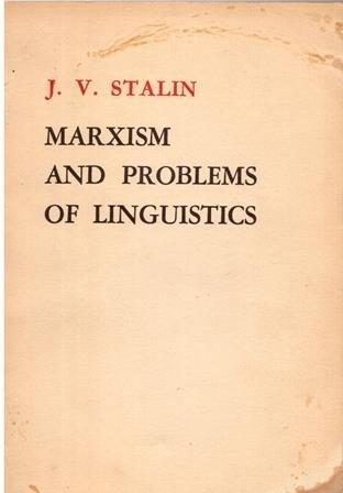9780835101509: Marxism and Problems of Linguistics